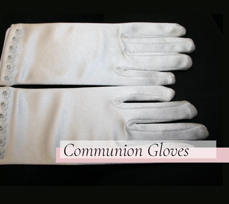 Communion Gloves - La Bella Sposa