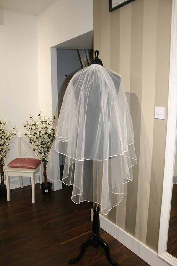 JJ Sapporo 2 Tiers Classic Tulle Veil