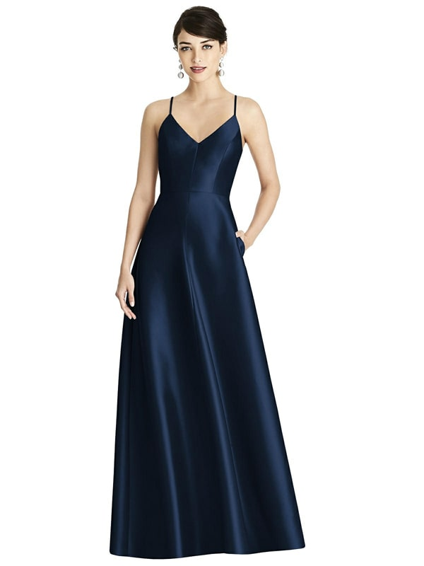 D750 Bridesmaid Dress