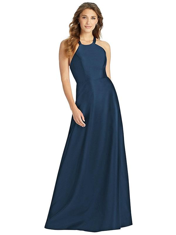 d763 Dessy Bridesmaid Dress